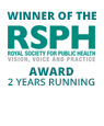 Winner of the Royal Society for Public Health award